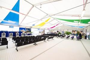 Liverpool cruise terminal reception